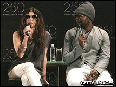 Fergie and will.i.am of the Black Eyed Peas