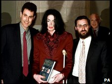 Uri Geller, Michael Jackson and Rabbi Shmuley Boteach