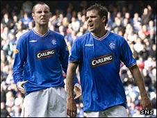 Kris Boyd and Nacho Novo