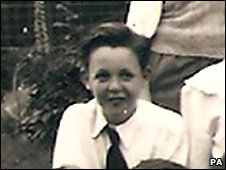 Paul McCartney in 1953