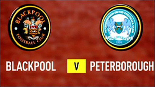 Highlights - Blackpool 2-0 Peterborough