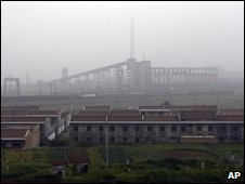 The Dongling Lead and Zinc Smelting Company in Shaanxi province - 18 August 2009