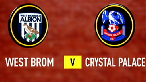 Highlights - West Brom 0-1 Crystal Palace
