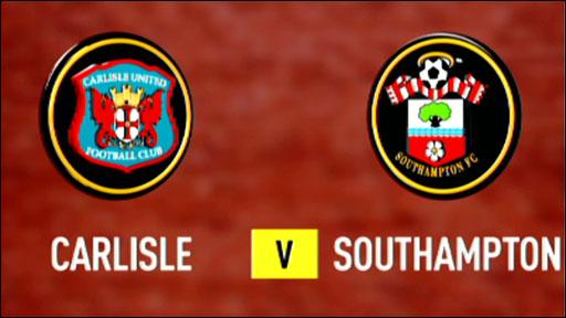 Carlisle 1-1 Southampton