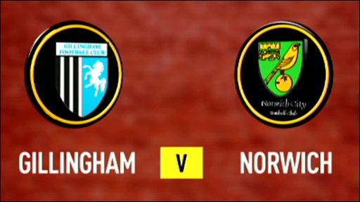 Gillingham 1-1 Norwich