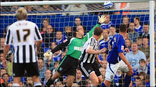 Ipswich v Newcastle