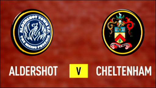 Aldershot 4-1 Cheltenham