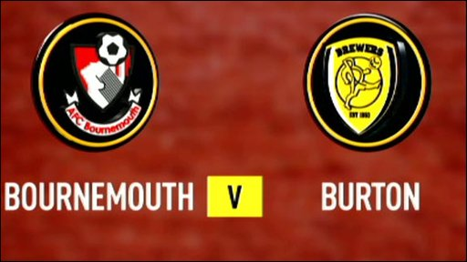Bournemouth v Burton Albion