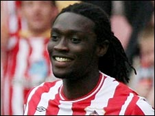 Kenwyne Jones scored twice for Sunderland