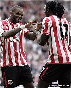 Darren Bent and Kenwyne Jones