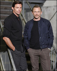 Hugh Jackman and Daniel Craig