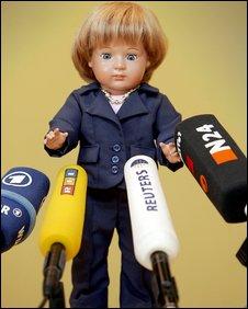 Angela Merkel doll (file photo)
