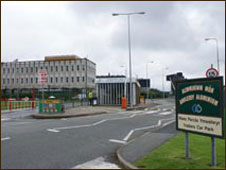 The site of Anglesey Aluminium, Holyhead in 2009