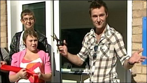 Harry Judd from McFly