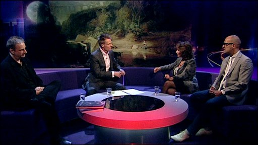 Newsnight Review panel