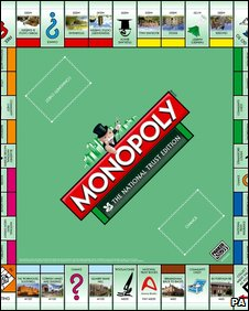 National Trust monopoly game