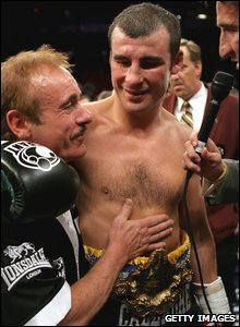 Enzo and Joe Calzaghe