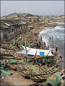 Fishing village, Ghana