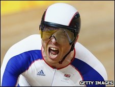 Three times Olympic gold medal winner Sir Chris Hoy