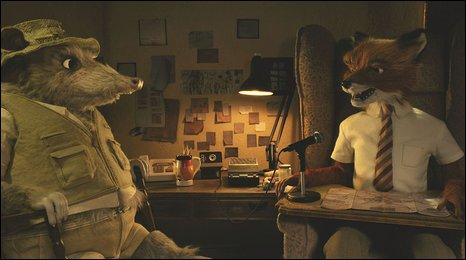 Scene from Fantastic Mr Fox