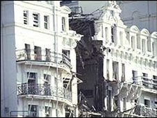 The Grand Hotel after the bomb