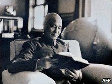late Taiwan president Chiang Kai-shek, 1956