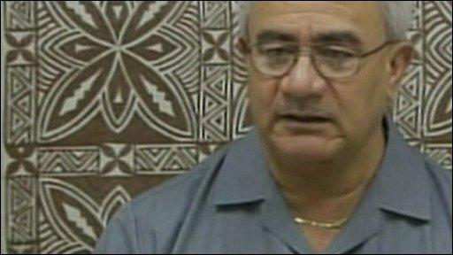 American Samoan Governor, Togiola Tulafono