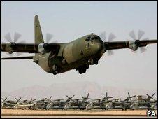 RAF C130 Hercules