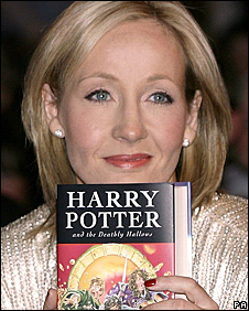 JK Rowlings Harry Potters books have sold more than 400 million ...