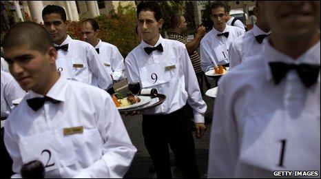 Waiter race