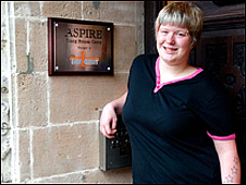 Stacie at the Aspire Centre, Great Yarmouth