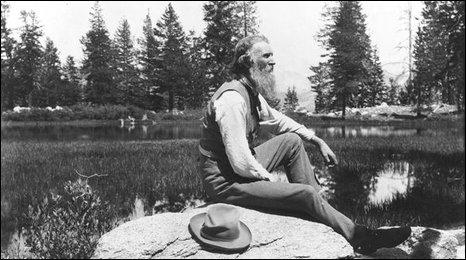 John Muir in Yosemite National Park