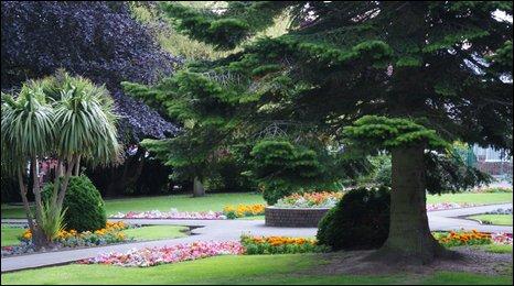 Fron Park, Holywell