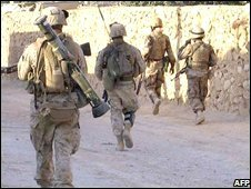 US marines in Iraq (file image)