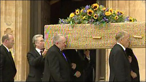 Keith Floyd's funeral