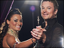 Flavia Cacace and Craig Kelly