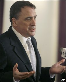 Jan 23, 2007 file photo of Peter Galbraith, deputy special representative for Afghanistan, speaking to the parliament
