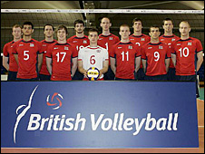 GB volleyball team