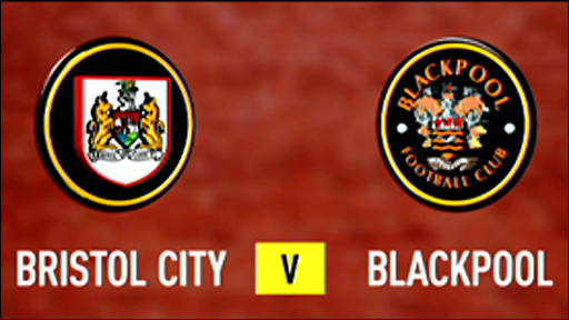 Bristol City 2-0 Blackpool