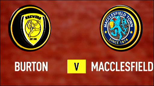 Burton v Macclesfield