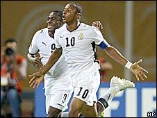 Ghana captain Dede Ayew