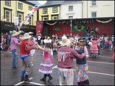 Gort's Brazilian festival (Pic: Olivia Sheringham)