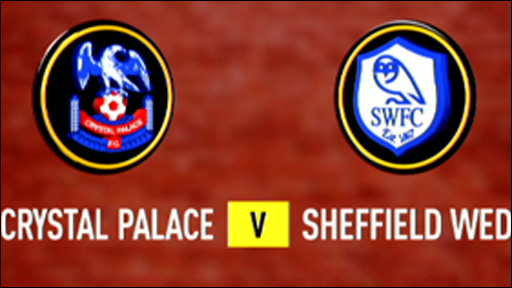 Crystal Palace 0-0 Sheffield Wednesday