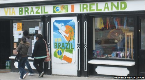 Brazilian shop in Gort