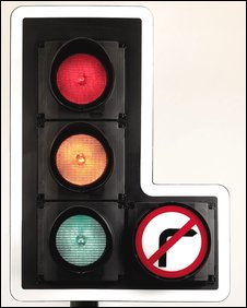 David Mellor, Traffic light
