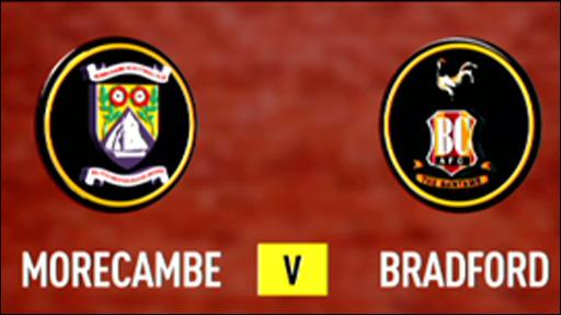 Morecambe 0-0 Bradford