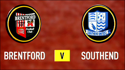 Brentford v Southend
