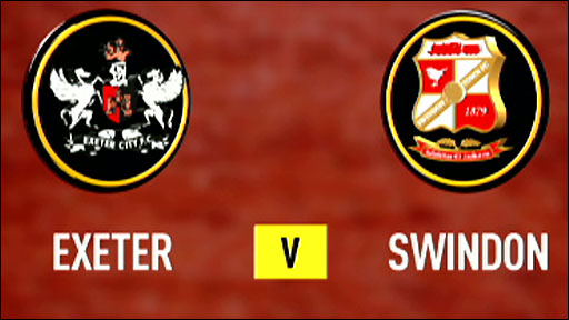 Exeter v Swindon