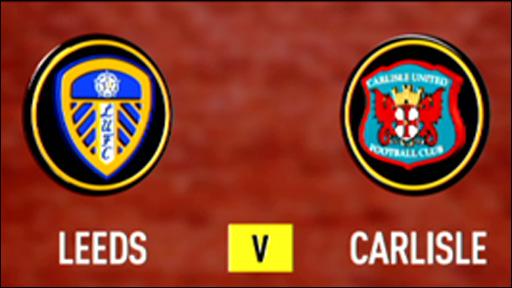 Leeds 1-0 Carlisle