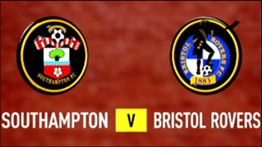 Southampton 2-3 Bristol Rovers